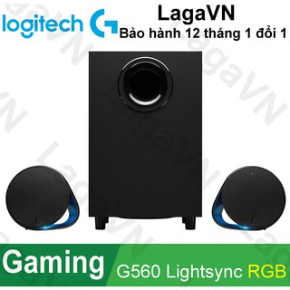 Loa Gaming Logitech G560 LIGHTSYNC RGB LED