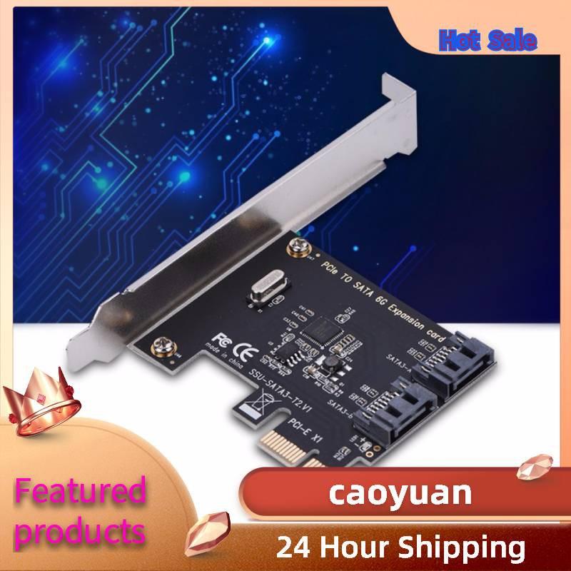 [Mã CBEL06 giảm 20% đơn 50k] Card Mở Rộng Pci-E Card Pci Express Sang Sata 3.0 2 Cổng Sata Iii 6Gbps