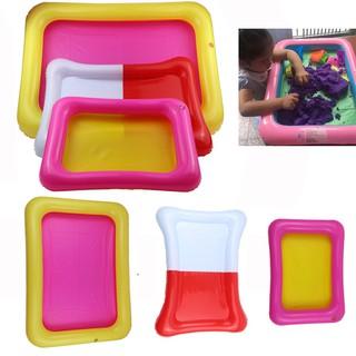 Kids Indoor Inflatable Large Castle Sand Box Sandbox Slime Mud Pool Outdoor Toys