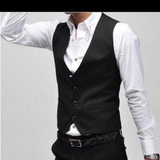 Áo gilê nam size m/l /xl 3 cúc
