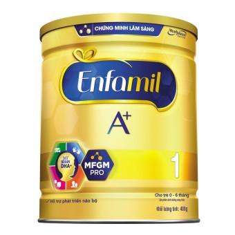 Sữa bột Enfamil A+ 1 DHA+ và MFGM 400g và 900g (cho trẻ từ 0-6 tháng) - 2969825 , 387357895 , 322_387357895 , 562000 , Sua-bot-Enfamil-A-1-DHA-va-MFGM-400g-va-900g-cho-tre-tu-0-6-thang-322_387357895 , shopee.vn , Sữa bột Enfamil A+ 1 DHA+ và MFGM 400g và 900g (cho trẻ từ 0-6 tháng)