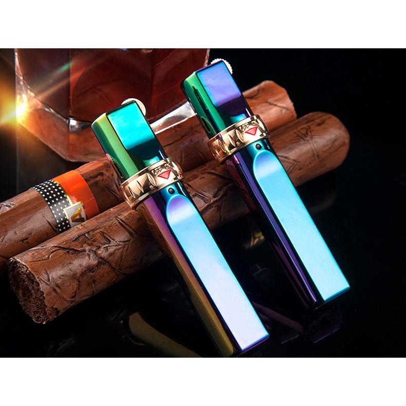 Bật lửa Jobon khóa rảnh tay ZB 633 A (xanh tím)