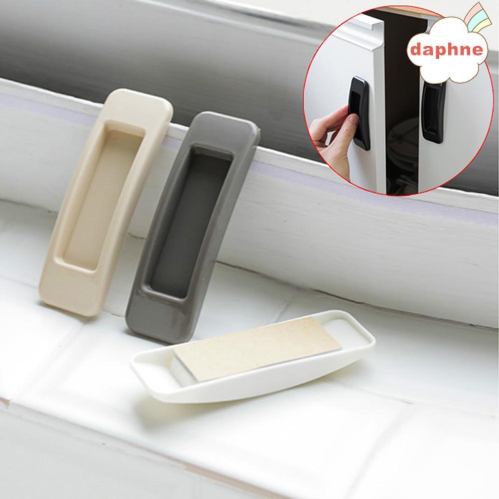 Daphne 1 Cặp Tay Nắm Cửa Tủ Quần Áo / Đồ Dùng Nội Thất Bằng Nhựa Nhiều Màu Siêu Bền Tiện Dụng