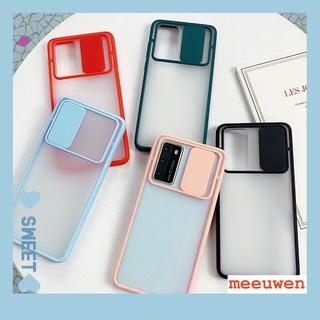 Ốp lưng Trong Suốt Có Tấm Trượt Bảo Vệ Camera Cho Samsung Galaxy A71 A51 2020 A31 A50 A50S A30S FD