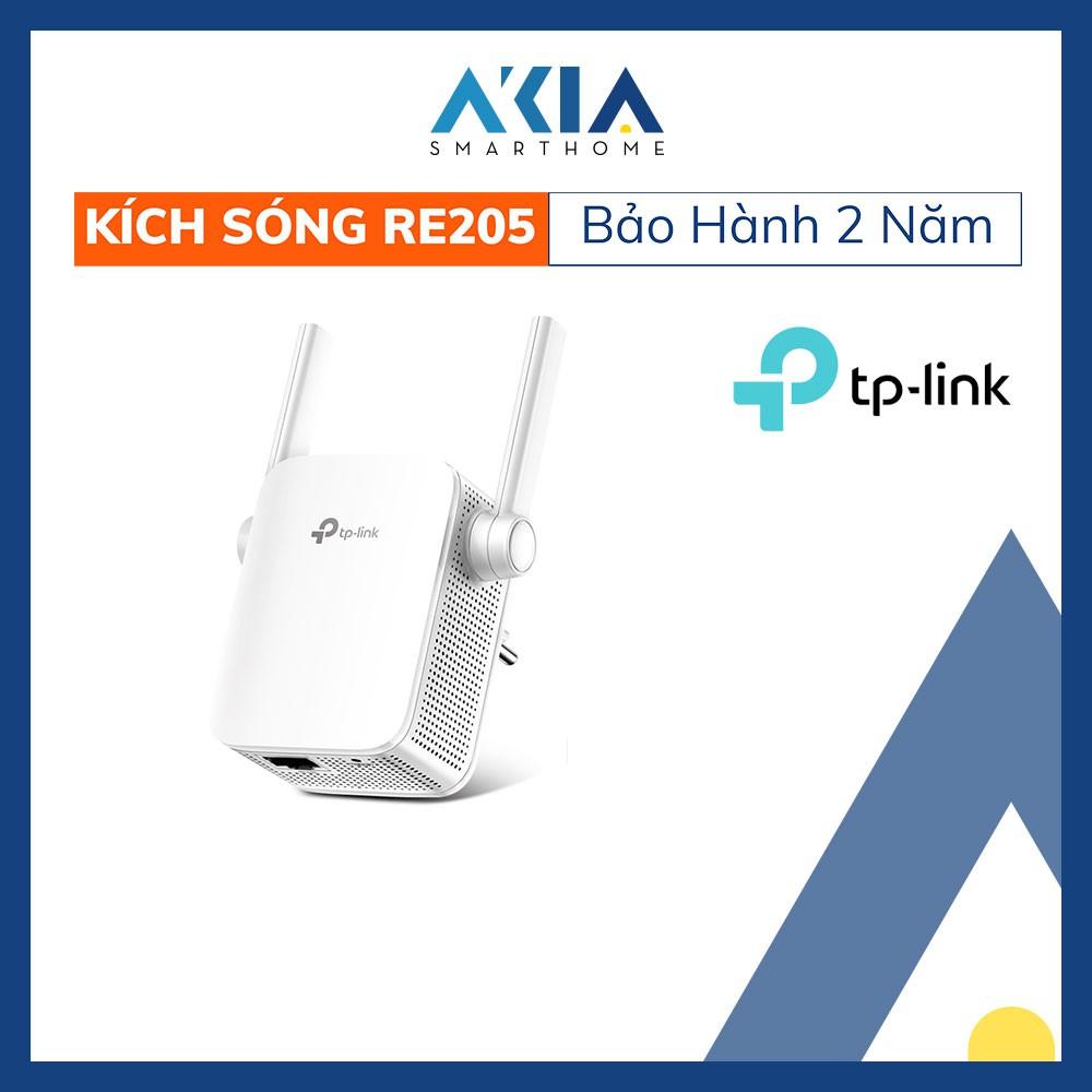 Bộ Kích Sóng Wi-Fi Băng Tần Kép RE205 AC750 - Hàng Chính