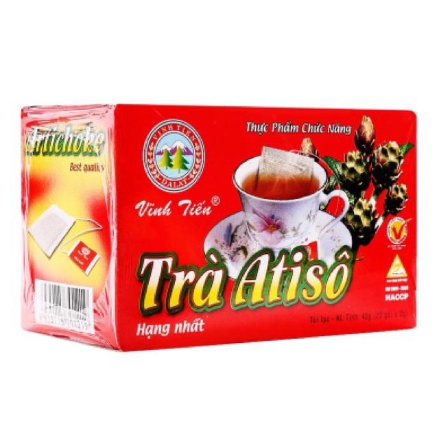 Bộ 5 hộp Trà Atiso hạng nhất Vĩnh Tiến 40g