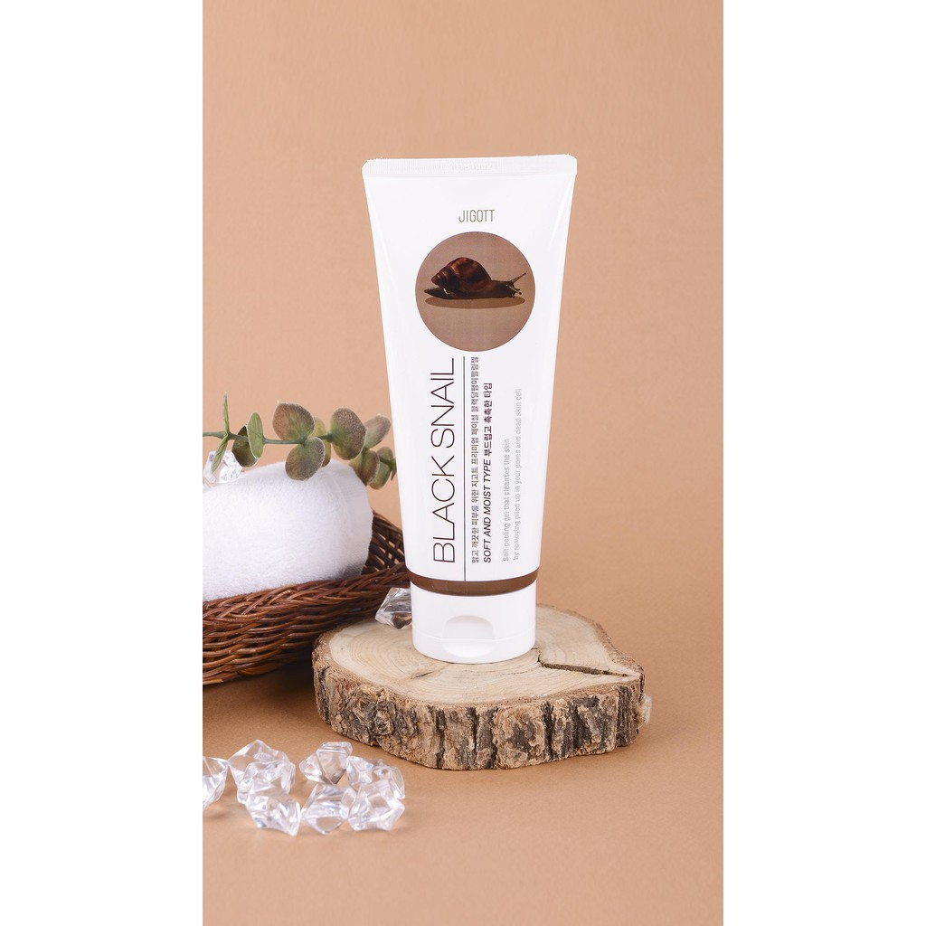 Tẩy Tế Bào Chết Ốc Sên Jigott Premium Facial Black Snail Peeling Gel - 180ml    Shopee Việt Nam
