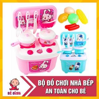 [Nhập mã TOYMAY15 giảm 15K] Bộ đồ chơi nhà bếp, đồ chơi nấu ăn thu nhỏ cho bé gái