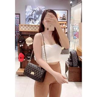 Túi xách nữ giá rẻ túi xách nữ ô trám da mềm hàng đẹp CKXOAY01 + hình thật