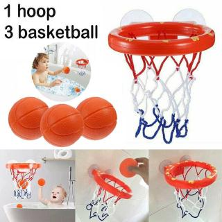 Baby Kids Bath Toy Basketball Hoop & Ball Bathtub Water Play Set Children Gift