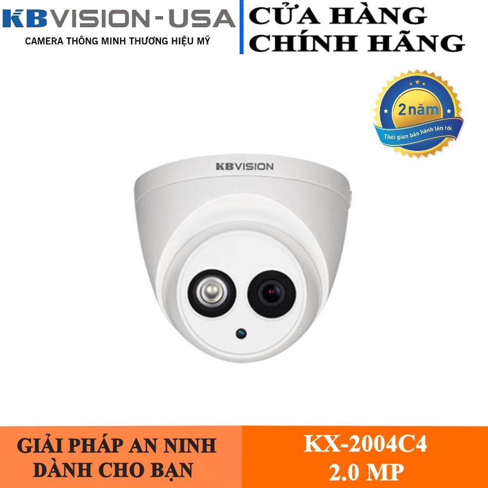 Camera HD-CVI Kbvision KX-2004C4 (2.0MP)-Camera Số 1