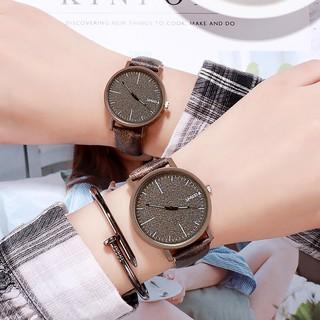 Đồng hồ unisex cặp đôi Shuxia Hàn Quốc dây da 5 màu hottrend thumbnail