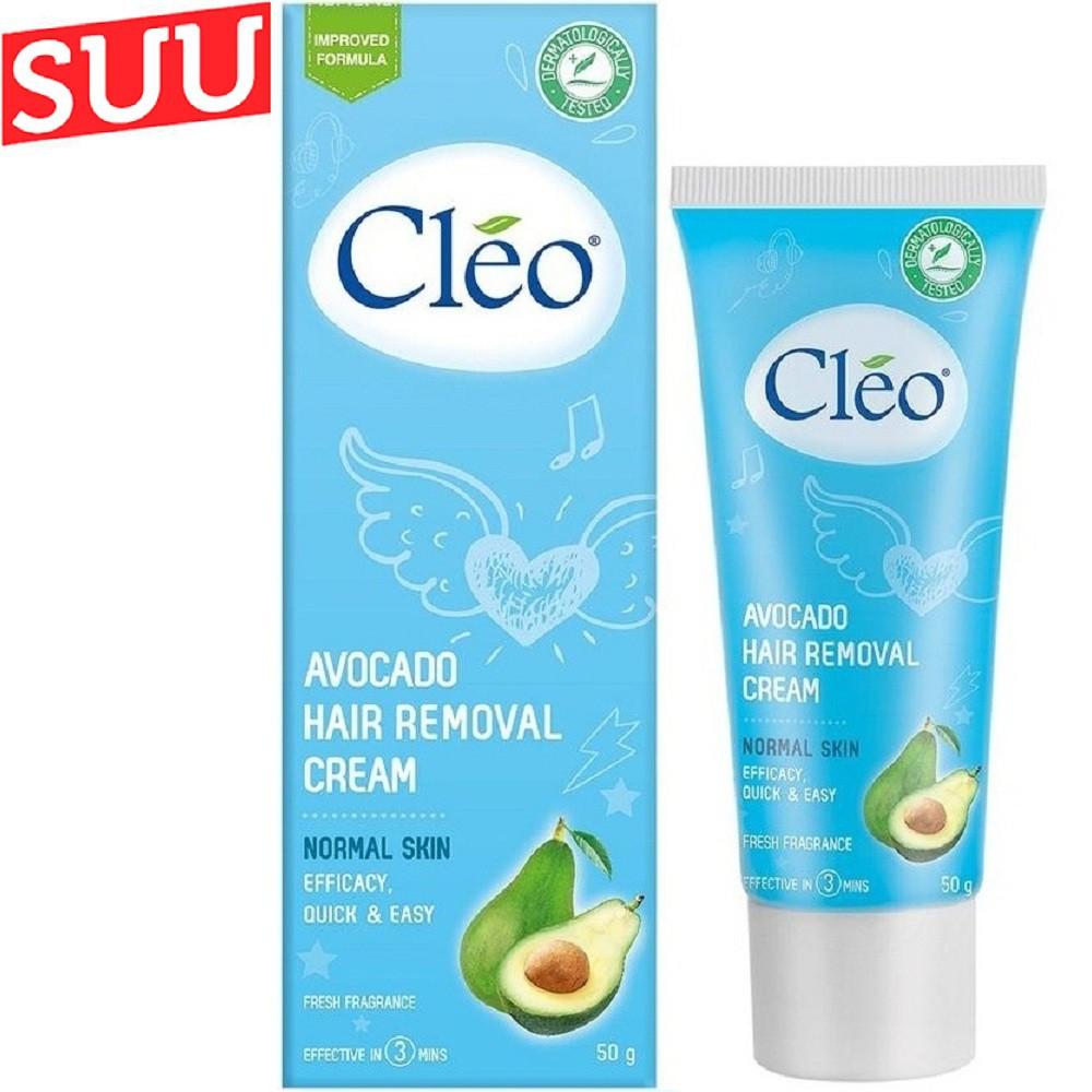 Tẩy Lông Cho Da Thường Cleo Avocado Hair Removal Cream Sensitive Skin 50gsuu.shop cam kết 100% chính hãng