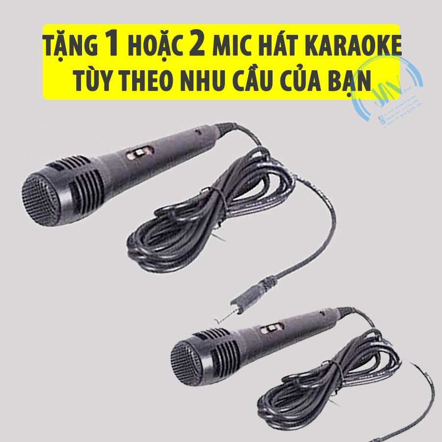 [ TẶNG 1 HOẶC 2 MICRO] Loa Kẹo Kéo Karaoke Bluetooth Mini - Loabluetooth- JAVA33bt
