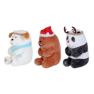 Gấu bông We Bare Bears 2.0 Christmas