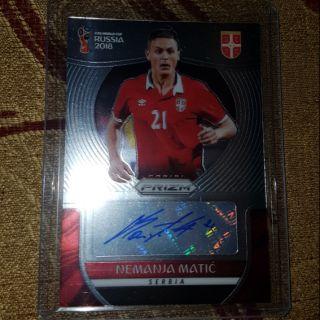 Matic thẻ cầu thủ bóng đá Panini ( chữ ký Matic )