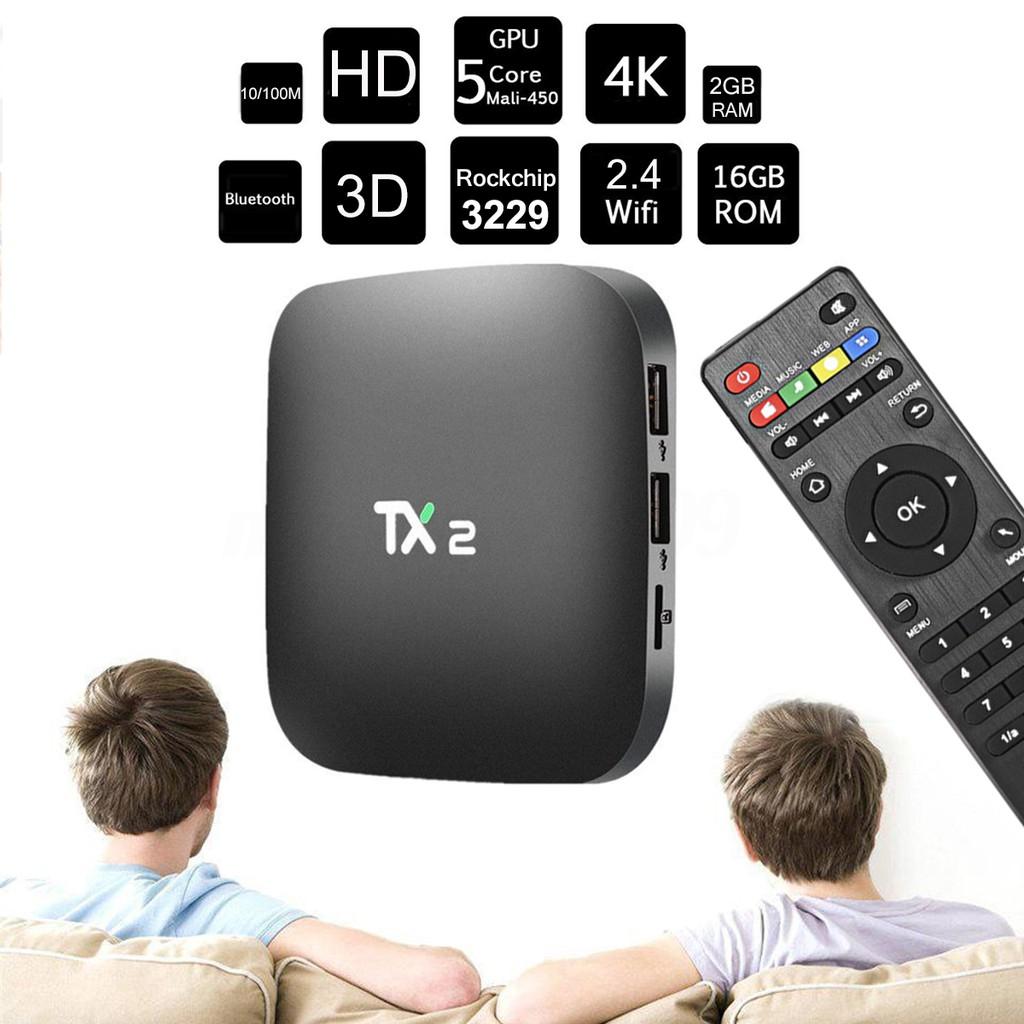 Smart Tivibox Tanix TX2 RAM 2GB, ROM 16GB tặng chuột không dây Forter (Bảo hành 1 năm) - 3079033 , 1193674236 , 322_1193674236 , 709000 , Smart-Tivibox-Tanix-TX2-RAM-2GB-ROM-16GB-tang-chuot-khong-day-Forter-Bao-hanh-1-nam-322_1193674236 , shopee.vn , Smart Tivibox Tanix TX2 RAM 2GB, ROM 16GB tặng chuột không dây Forter (Bảo hành 1 năm)