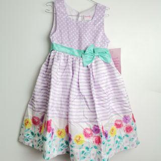 Váy dự tiệc bé gái sang trọng hàng xuất dư xịn