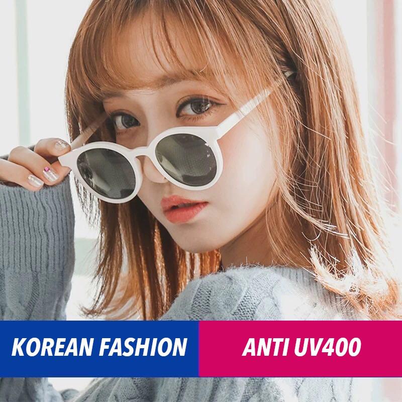 Kính râm thiết kế mắt mèo kiểu Hàn Quốc cho nam lẫn nữ