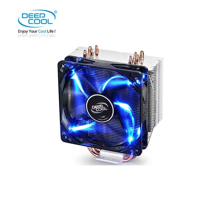 Quạt tản nhiệt khí Deepcool Gammaxx 400 (1 quạt và 2 quạt) - Led xanh cực đẹp và bền