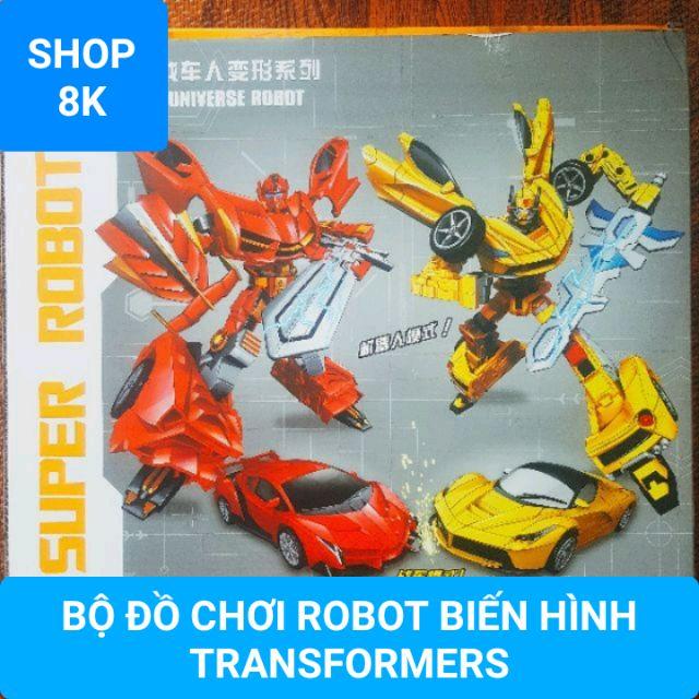 Bộ đồ chơi robot biến hình Transformer (1158-50)