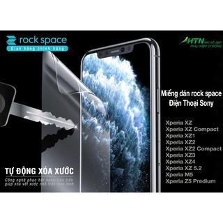 Dán màn hình điện thoại Sony Xperia XZ XZs XZ1 XZ2 XZ3 XZ4 Z5 5.2 compact premium bảo vệ mắt, trong hydrogel rock space