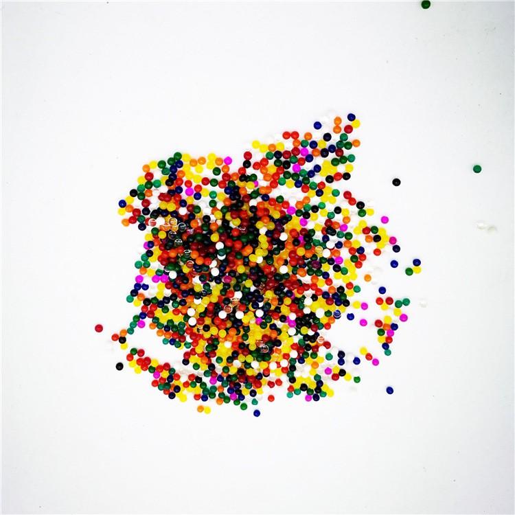 hạt nở nhiều màu -Hạt nở Nhật Bản Làm Slime Hoặc Trồng Cây gói 100gram mã CZH63