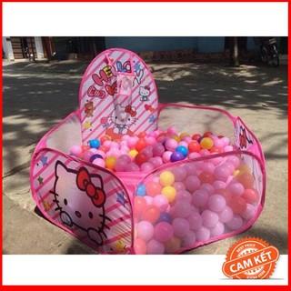 Lều Bóng Hello Kitty Hồng Kèm 100 Bóng | TẠI BA ĐÌNH