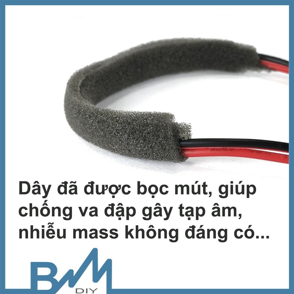 Mút bọc dây loa chống rung có sẵn keo 1 mét