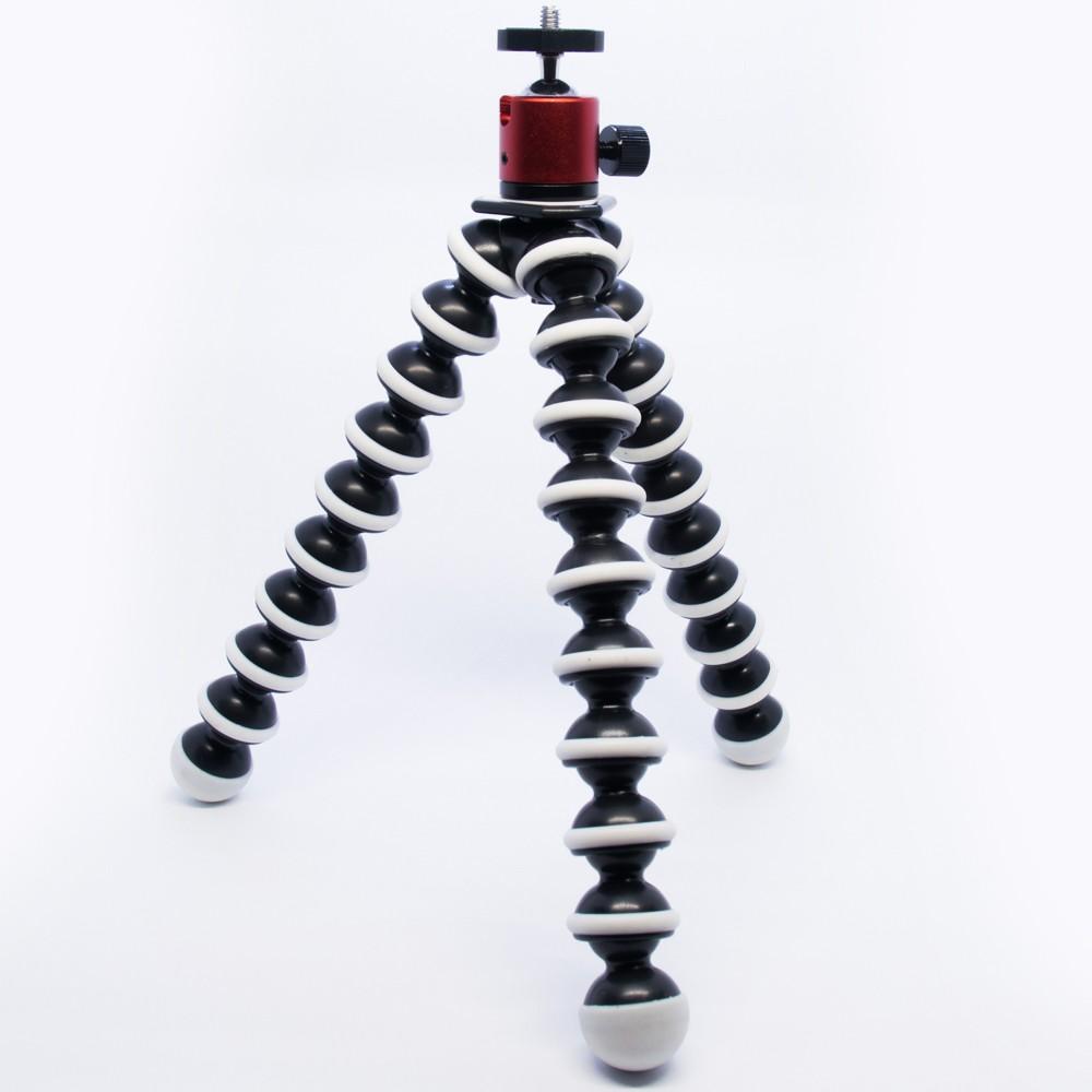 Bộ chân máy ảnh bạch tuộc lớn và đầu bi chân máy ảnh toàn thân kim loại - nhiều màu