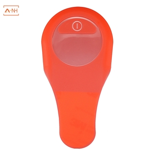 【A-NH】Electric Scooter Waterproof Silicone Case for Ninebot Es1 Es2 Es4 Dashboard Panel Circuit Board Cover Fixing Scratch Protection(Red)