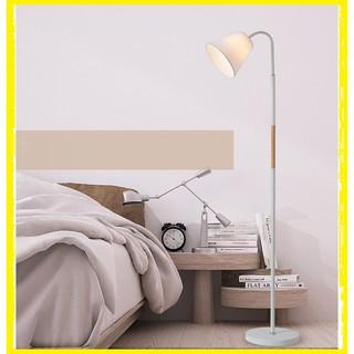 Đèn cây đứng DC0206 trang trí nội thất phòng khách – Kèm bóng LED bảo vệ thị lực tốt