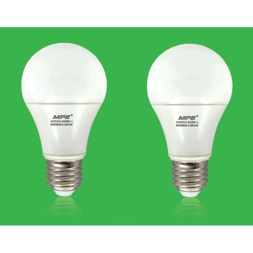Bộ 2 Bóng đèn LED Bulb tròn 3W MPE - 3350761 , 973610756 , 322_973610756 , 51000 , Bo-2-Bong-den-LED-Bulb-tron-3W-MPE-322_973610756 , shopee.vn , Bộ 2 Bóng đèn LED Bulb tròn 3W MPE