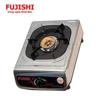 Bếp đơn sử dụng khí BIOGAS chén đồng khung inox FUJISHI FJ-BG2