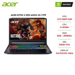 """Laptop Acer Nitro 5 2020 AN515-55-77P9 i7-10750H 8GB 512GB GTX1650Ti 15.6''FHD144Hz W10 giá chỉ còn <strong class=""""price"""">2.439.000.000.000đ</strong>"""