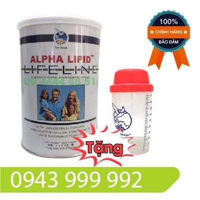 Sữa Non Alpha Lipid 450g Của New Zealand(Combo 1 sữa + 1ly)