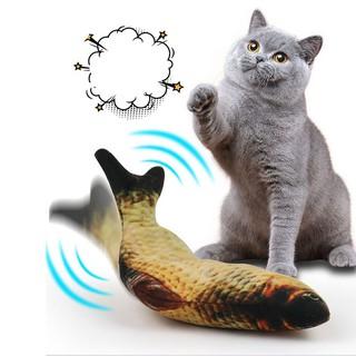 Đồ chơi trẻ em – cá nhảy tự động thông minh dùng cho bé trai gái, mèo con