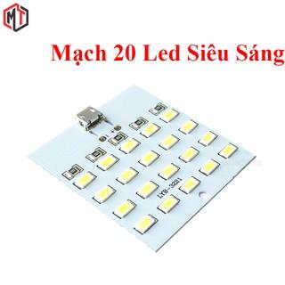 Mạch 20 Led Siêu Sáng USB 5v