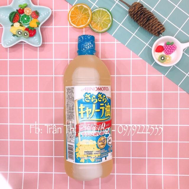 Dầu Ăn Hạt Cải Ajinomoto Nhật Bản 1 Lít
