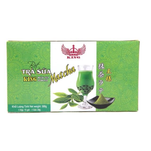 Bột trà sữa Matcha King 300g(15 gói*20g)