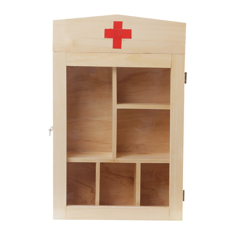 Tủ thuốc gỗ gia đình loạ