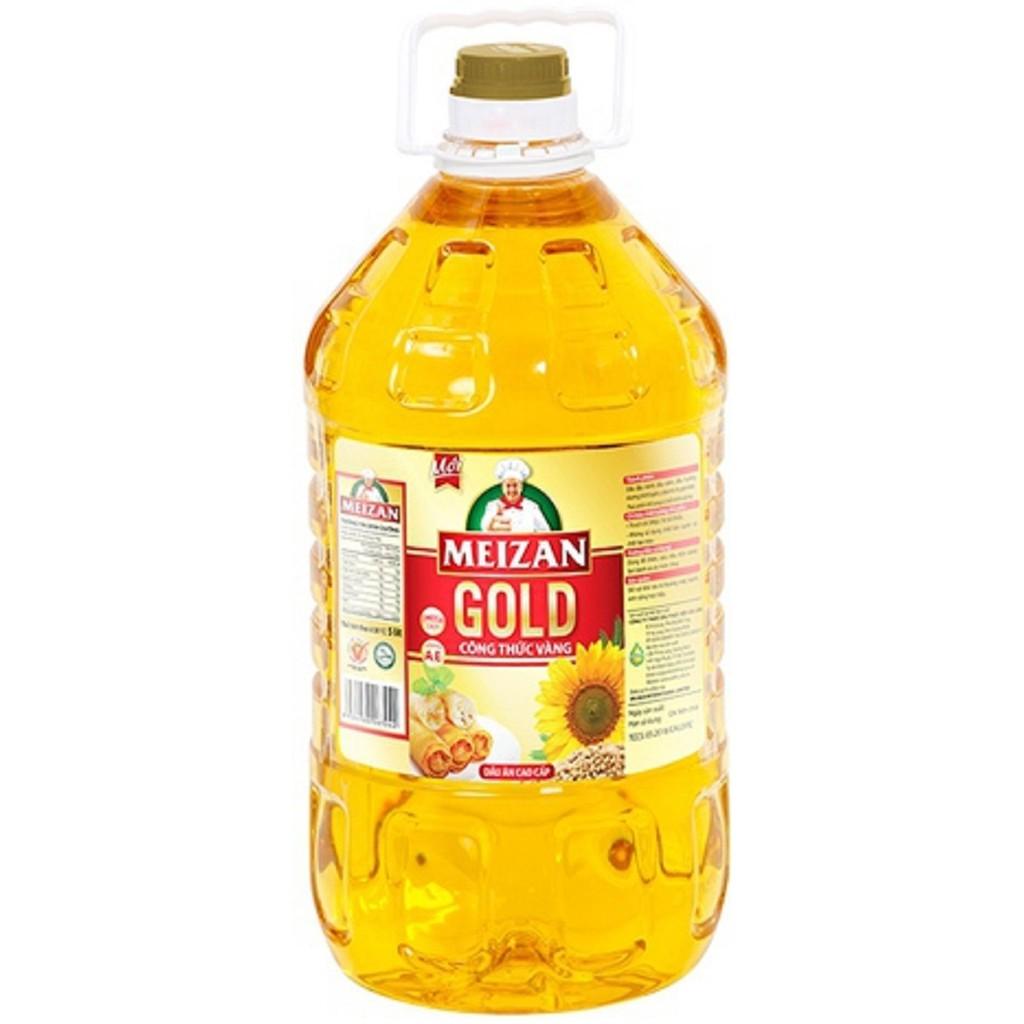 Dầu ăn Meizan Gold 5L thơm ngon từng món ăn Dầu ăn Meizan Gold 5L thơm ngon từng món ăn