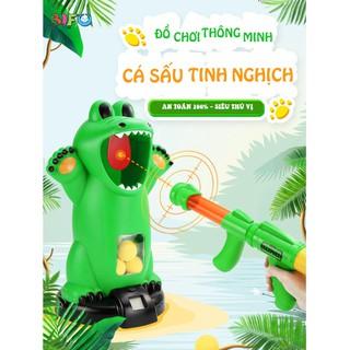 [Nhập mã BI1T50K giảm tối đa 50K] Bộ đồ chơi bắn bóng CROCODILE – Đồ chơi cá sấu tinh nghịch