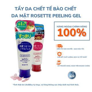 Tẩy tế bào chết Rosette Peeling Gel AHA Nhật Bản không bào mòn da mặt 120g - hàng ngoại Like&Buy thumbnail