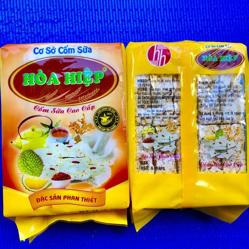 Đặc sản Phan Thiết 10 bánh Cốm Nếp Sữa Sấy Hoà Hiệp nổi tiếng ăn vặt giòn thơm ngon hấp dẫn