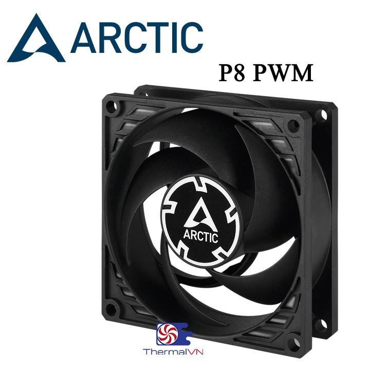 Quạt Fan Case 8cm Arctic P8 PWM - Quạt quay êm 3000 vòng, sức gió tốt