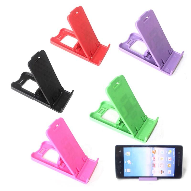 Giá đỡ điện thoại bằng nhựa có thể gấp gọn tiện lợi