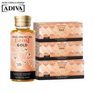 Combo 3 Hộp Gold Adiva Collagen (14 lọ hộp) - Làm giảm nếp nhăn, ngăn ngừa lão hóa thumbnail