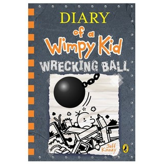 Sách: Diary of a Wimpy Kid 14 - Wrecking Ball (Hardback)