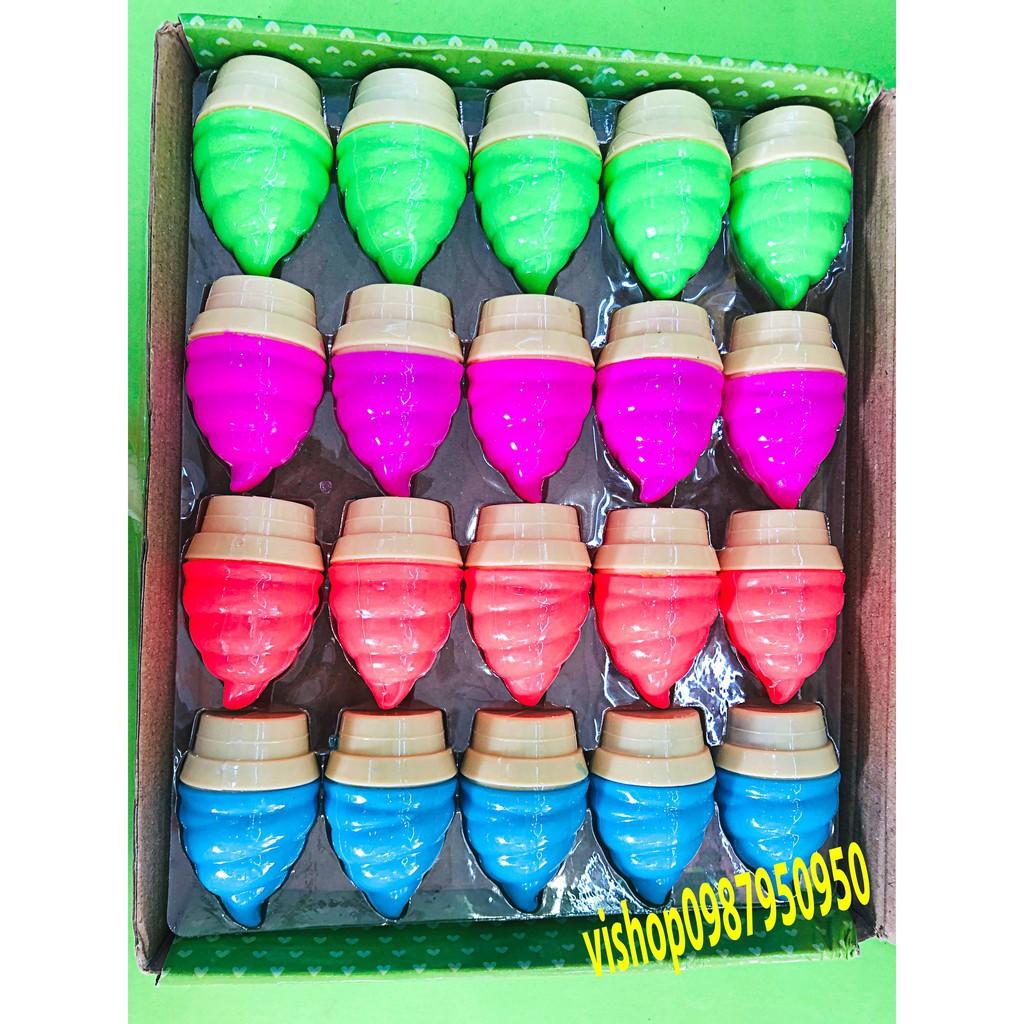 đồ chơi slime chất nhờn cốc kem - slime dạng mềm dẻo mã CJL21 Khay